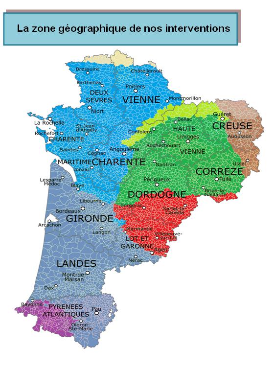 Zone geographique